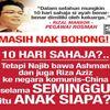 Yang Orang Ramai Bising Sebab Najib Razak Salah Gunakan Jet Rasmi Kerajaan Malaysia