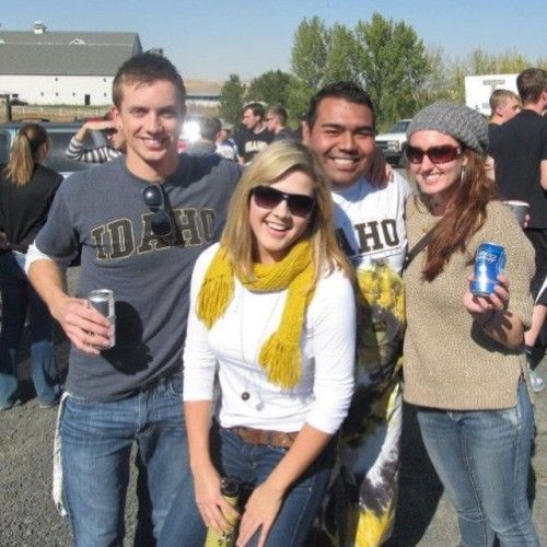Amateur College Tailgating Sex Party