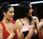 WWE's Brie Bella (The Bella Twins) Sexy boob slip, OOPS