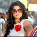 Sai Tamhankar in a still from the Marathi movie Duniyadari
