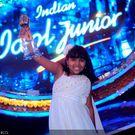 Anjana Padmanabhan is the first Indian Idol Junior ~ third round