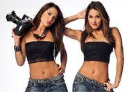 WWE Diva Focus: Bella 2011 Studios