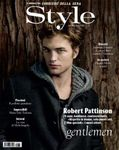 Robert Pattinson takes the cover of Italy's Style and chats about