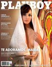 Model Maria Florencia Onori posing as the Virgin Mary on the cover
