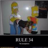 The Simpsons, Rules 34