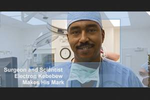 Surgeon and Scientist Electron Kebebew makes his mark