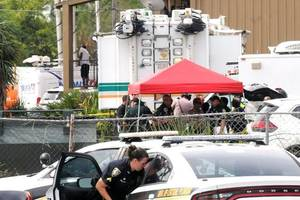 Mass shooting at Orlando industrial park leaves 'multiple fatalities'