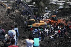 Tensions flare as 82 dead at Ethiopia dump