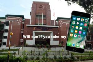 Singapore dad sues school principal for confiscating phone