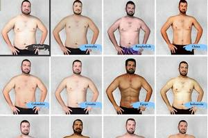 Perception of Beauty in Different Cultures? How designers from 19 countries Photoshopped a man in to Different Look