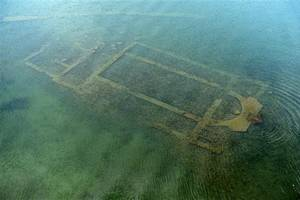 Remains of Byzantine basilica discovered at the bottom of Lake Iznik