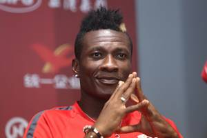 I am fit to play against Ethiopia- Asamoah Gyan