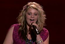 Lauren Alaina shows off her winning attitude