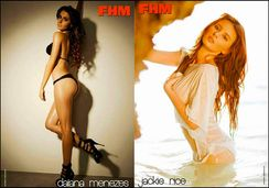 Presenting The FHM All Star Pinups: Angel Locsin! Sam Pinto! Ellen