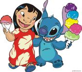 Novi Yanti: Lilo and Stitch