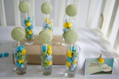 Pure Joy Events: Lullaby Baby Shower: Dessert Table and Advice Display