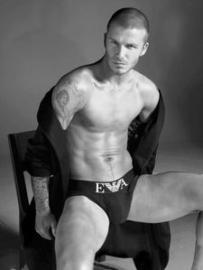 Just because---- DAVID BECKHAM NSFW--nude shots included