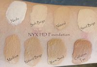 NYXHDStudioFoundationSwatches jpg