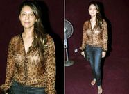 gauri khan hot in transparent shirt bra show controversy pics