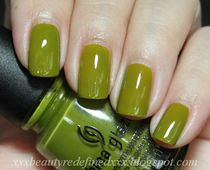 BeautyRedefined by Pang: China Glaze Budding Romance  Swatch