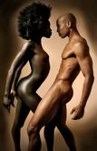 THE LIONS DEN: NUDE NUBIAN EROTIC COUPLES