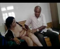 Desi Sex Blog: Old man playing sex game with his friend's aged wife