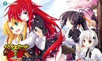 Another Brasil: [Download] High School DxD  Mangá