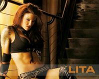 Lita  WWE Hottest Diva Big Juicy Boobs Show Hot and Sexy Wallpapers