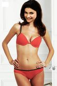 Prachi Desai in red bikini bra superhot hq magazine scan