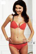 Prachi Desai in red bikini bra superhot hq magazine scan