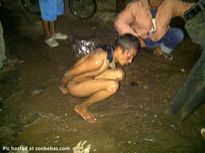 Gieaviannaa Blog: (Photo) Thief beaten and forced to strip naked
