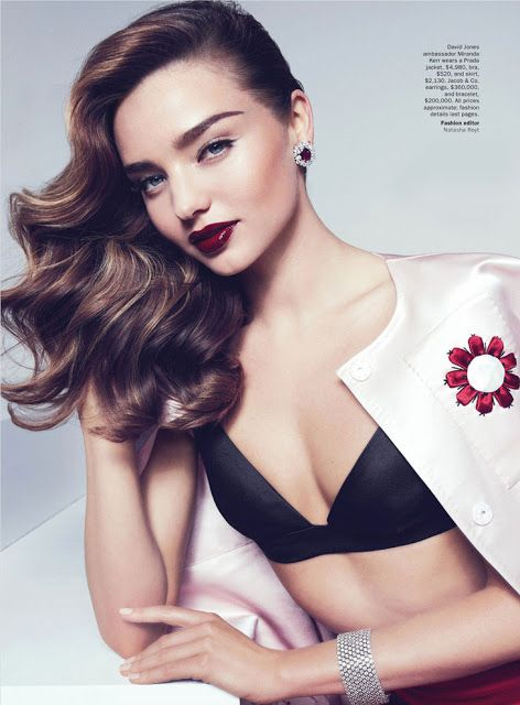 Miranda Kerr For Vogue Australia Magazine April 2013 Issue