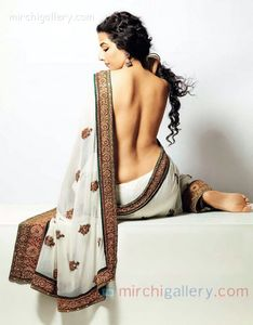 Beautiful Vidya Balan Almost Nude Photo Shoot