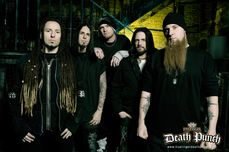 Hey, Just Me :): Band of the Day Five Finger Death Punch