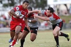George has been a regular sevens player in the Wellington side from