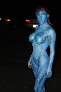 Gears of Halo: Xmen's Mystique performed by Cosplay Fans