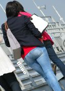 Divine Butts  Voyeur Blog: Tight ass jeans candid booty butt