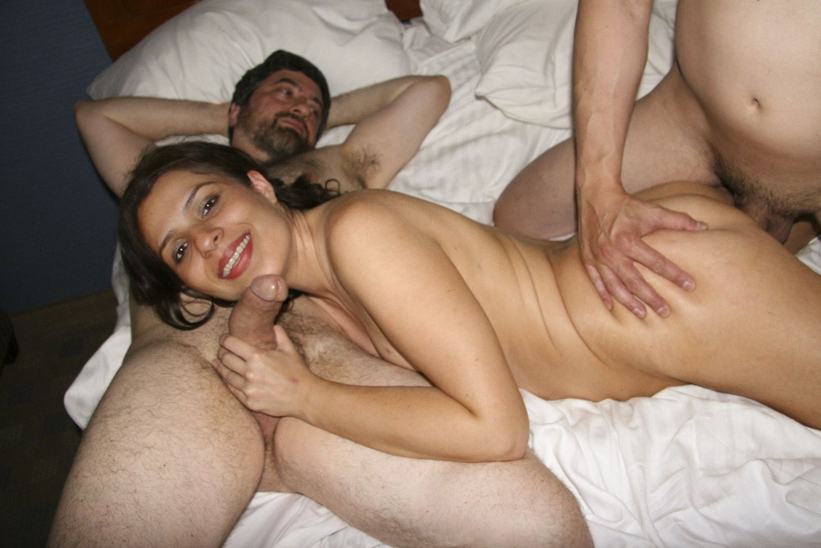 Hairy Desi Indian Threesome