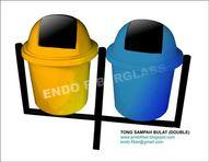 Tempat Sampah Organik dan Non Organik