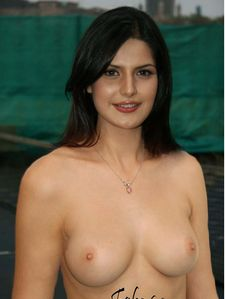 zarine khan nude fake