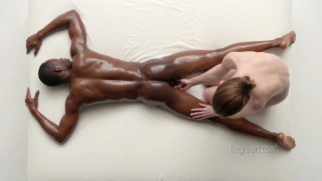 Charlotta Mesmerizing Penis Massage