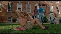 Mark Getz & Sean Astin  Shirtless, Barefoot & Naked in