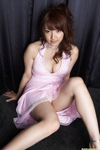 Shiori Kamisaki in elegant night dress ~ gayonfire