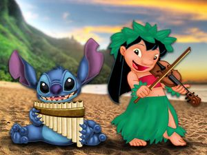 HD Desktop Wallpapers Free Online: Amazing Lilo and Stitch wallpapers