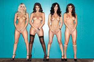 "Holly Peers, India Reynolds, Emma Glover & Nicole Neal - ""The Naked"