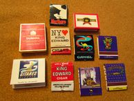 Arnon Reisman  A Phillumenist: More Cigarette brands matchbooks from