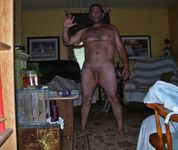 Naked amateur guys: Dad