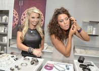 Walnut Street boutique   I caught Julie Dorenbos and Susie Celek