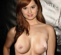 debby ryan topless tits breast nipple