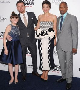 Joey King, Channing Tatum, Maggie Gyllenhaal and Jamie Foxx